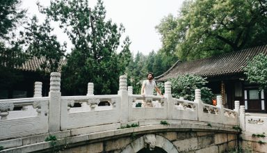 Tiago at Summer Palace (Beijing)
