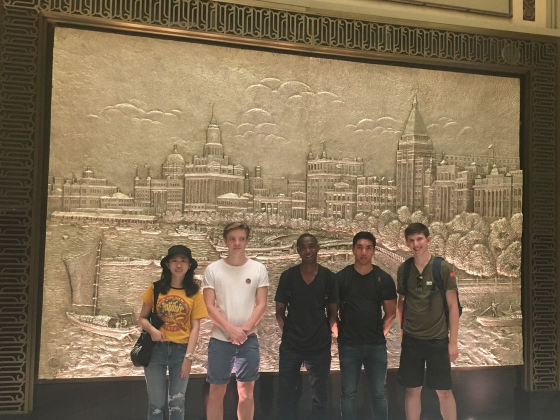 Gap Year Programs - Participants touring Shanghai
