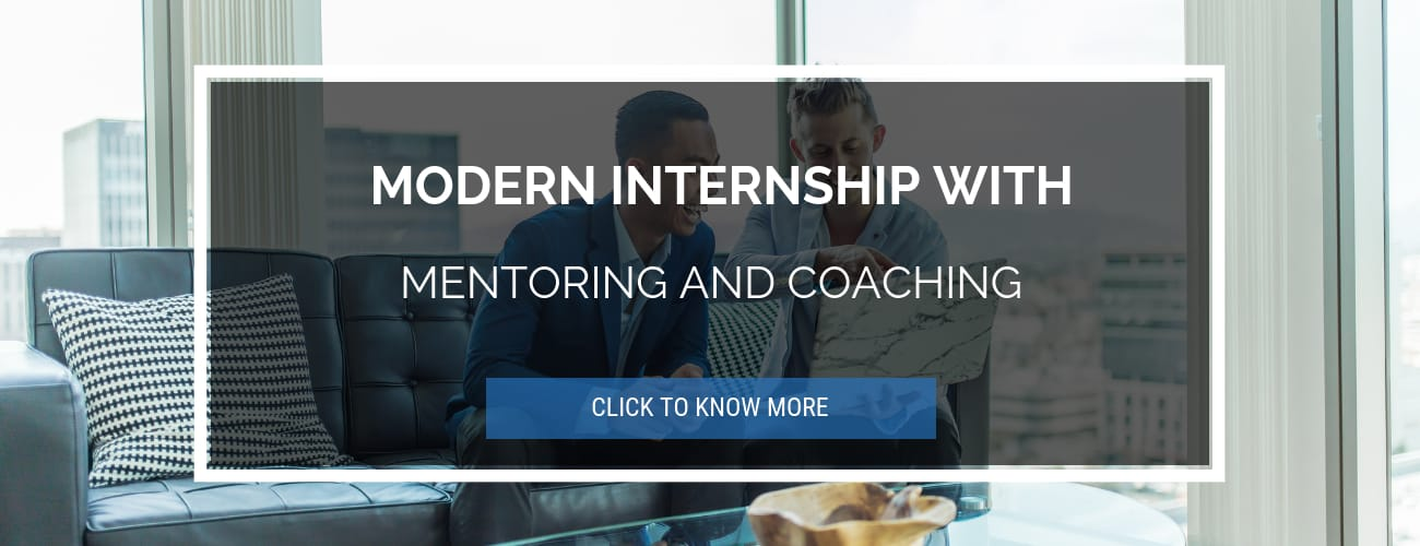 Modern Internship w Mentoring and Coaching
