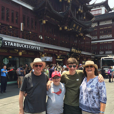 Gap Year Parents came for a visit - CIP Gap Year in China