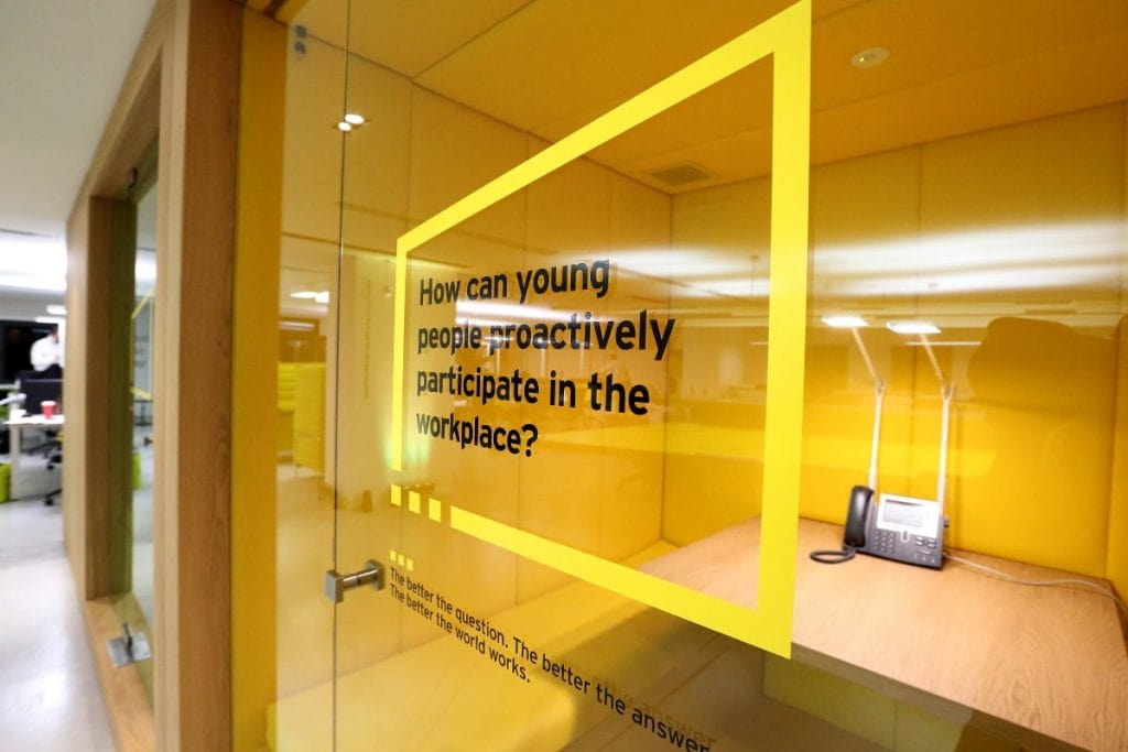 Beijing Internship - EY Office Environment