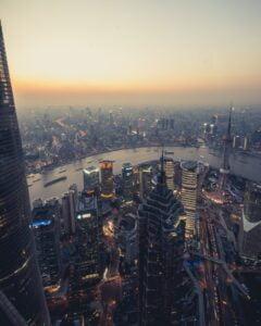 Shanghai Birds eye view