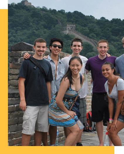 Internships abroad participants