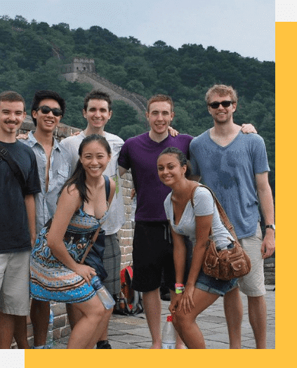 Internship Students at Great Wall